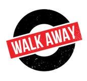 Tampon en caoutchouc parti de promenade Photos libres de droits