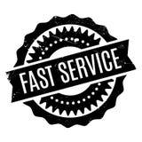 Tampon en caoutchouc rapide de service illustration libre de droits