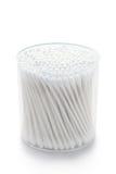 Tamponi di cotone Fotografie Stock