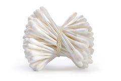 Tamponi di cotone dell'igiene Fotografia Stock
