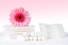 tampons μαξιλαριών Στοκ εικόνες με δικαίωμα ελεύθερης χρήσης