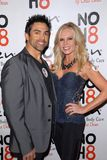 Tamra Barney,Eddie Judge. Eddie Judge and Tamra Barney  at the NOH8 Campaign 4th Anniversary Celebration, Avalon, Hollywood, 12-12-12 Stock Photos