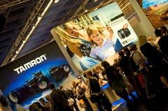 Tamron em Photokina 2008 Imagem de Stock Royalty Free