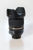 Tamron Lens 24-70 mm. Tamron Zoom Lens 24-70mm close up stock photography