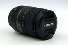 Tamron 16-300mm f/3 5-6 lente do macro vc de 3 di ii para Sony Imagem de Stock