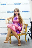 Tamron model Royalty Free Stock Image
