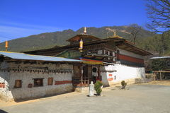 The Tamshing Lhakhang Royalty Free Stock Image
