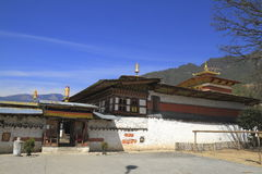 The Tamshing Lhakhang Stock Photos