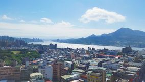 Tamsui destrict Arkivbild