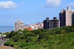 Tamsui District new Taipei city Taiwan stock image
