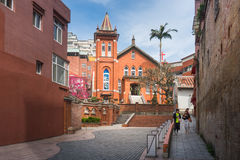 Tamsui Presbyterian Church Stock Photo