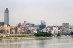 Tamsui River, Taipei City Royalty Free Stock Photos