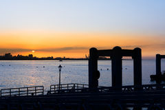 Tamsui scenery Royalty Free Stock Images