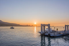 Tamsui scenery Royalty Free Stock Image