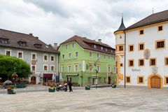 Tamsweg, Áustria Foto de Stock Royalty Free