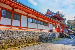 Tamukeyama Hachimangu in Nara Royalty Free Stock Image