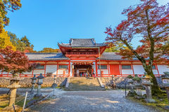 Tamukeyama Hachimangu in Nara Stock Photography