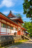 Tamukeyama Hachimangu Shrine in Nara, Japan Royalty Free Stock Photo