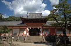 Tamukeyama shinto shrine, Nara, Japan Stock Photo