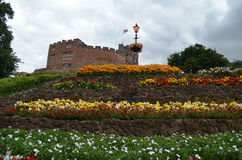 Tamworth-Schloss, Staffordshire, England Stockfotos