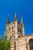Tamworth, una chiesa molto inglese Fotografie Stock