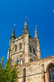 Tamworth,a very english church Stock Photos