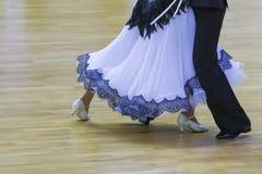 Tanów pojęcia Zbliżenie nogi Fachowy Dancingowy wyczyn Obrazy Stock
