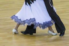 Tanów pojęcia Zbliżenie nogi Fachowy Dancingowy wyczyn Zdjęcia Royalty Free
