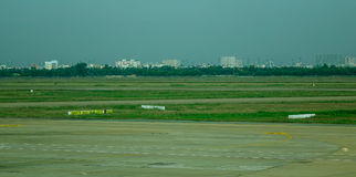 Tan儿子Nhat机场在西贡,越南 库存照片
