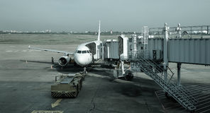 Tan儿子Nhat机场在西贡,越南 免版税库存照片