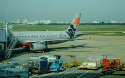 Tan儿子Nhat机场在西贡,越南 免版税图库摄影
