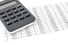 TAN发电器和TAN名单 免版税库存图片