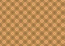 коричневый tan ромбовидного узора Стоковое Фото