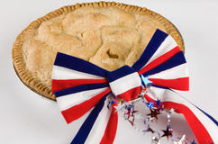 Tan americano como la empanada de Apple Fotografía de archivo libre de regalías