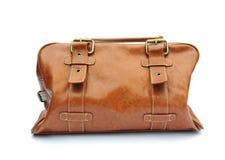 Tan bag Royalty Free Stock Photography