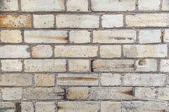 Tan brick wall Royalty Free Stock Image