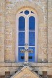 Tan Church Window Stock Images