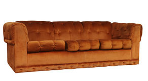 Tan Couch Royalty Free Stock Photo