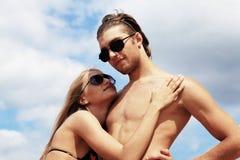Tan couple Royalty Free Stock Photos