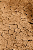 Tan Cracked Ground, Dirt or Mud Stock Image