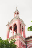 Tan Dinh Pink Catholic Church in Ho Chi Minh lizenzfreie stockfotos