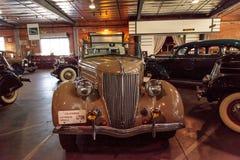 Tan 1936 Ford Roadster royalty-vrije stock foto