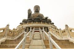 Tan Grote Boedha van Tian van Po Lin Klooster Royalty-vrije Stock Afbeeldingen