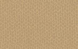 Tan Honeycomb Background Fabric Royaltyfri Fotografi