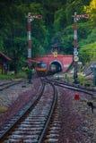 Tan khun тоннеля поезда Стоковые Изображения RF