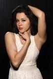 Tan model woman Royalty Free Stock Photography