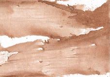 Tan nebulous wash drawing pattern Stock Photo