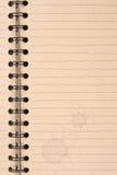Tan paper Stock Image