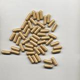 Tan Pills Royaltyfria Foton