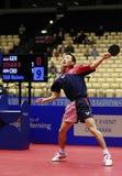 Tan Ruiwu (CRO). Playing at the 2012 European Table Tennis Championships,17-21 October 2012,Herning,DEN Stock Photos